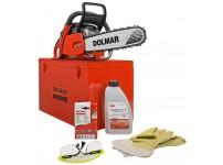 Dolmar PS5105CK-38 kettingzaag - Compleet met koffer, bril, handschoenen, zaagolie en extra ketting!!