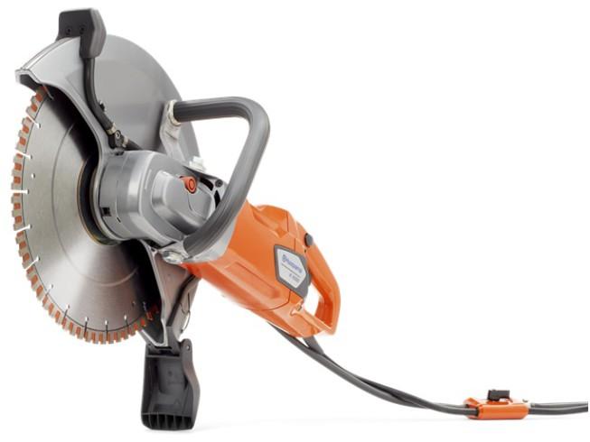 Husqvarna K4000 Wet Elektrische doorslijper met 350 mm zaagblad