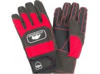 Werkhandschoen met zaagbescherming