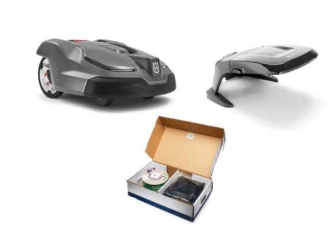 Husqvarna Automower 430X  inclusief installatiepakket L en beschermhuis