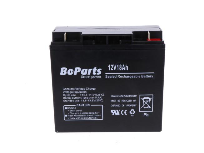 BoParts accu 12 V 18 Ah universeel