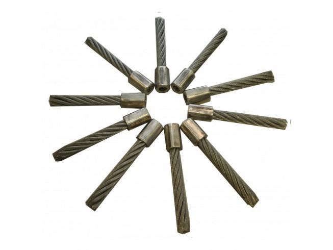 Tielbürger onkruidborstelmachine staalborstels